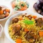 الأرز بالبخاري