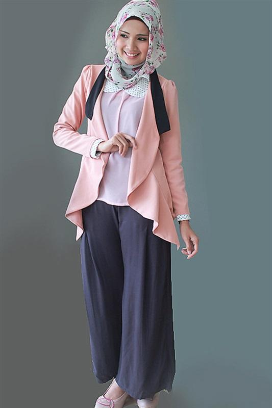 البنطلون الواسع مع الحجاب اخر صيحات الموضة