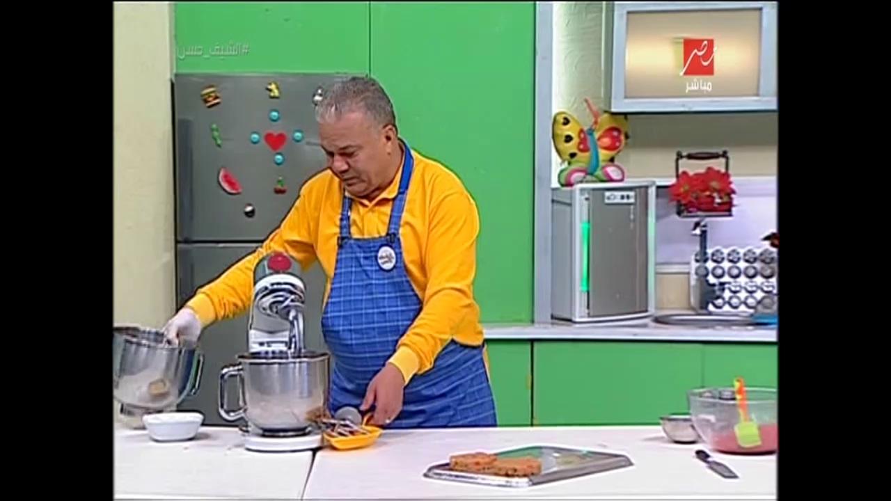 طريقة عمل أقراص برجر اللحم فى دقائق من #الشيف_حسن