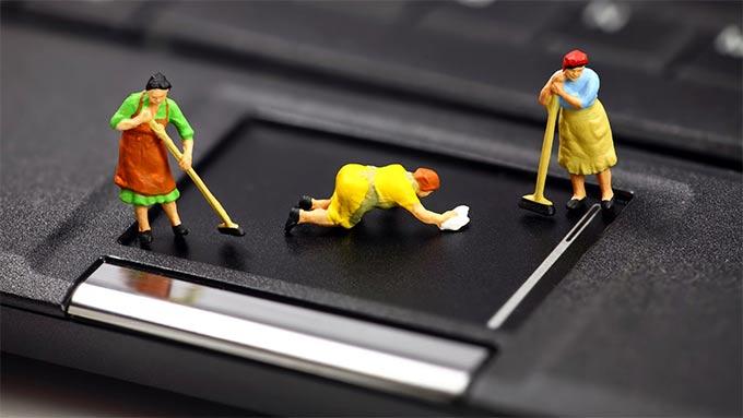 نصائح لتنظيف الأجهزة الإلكترونية