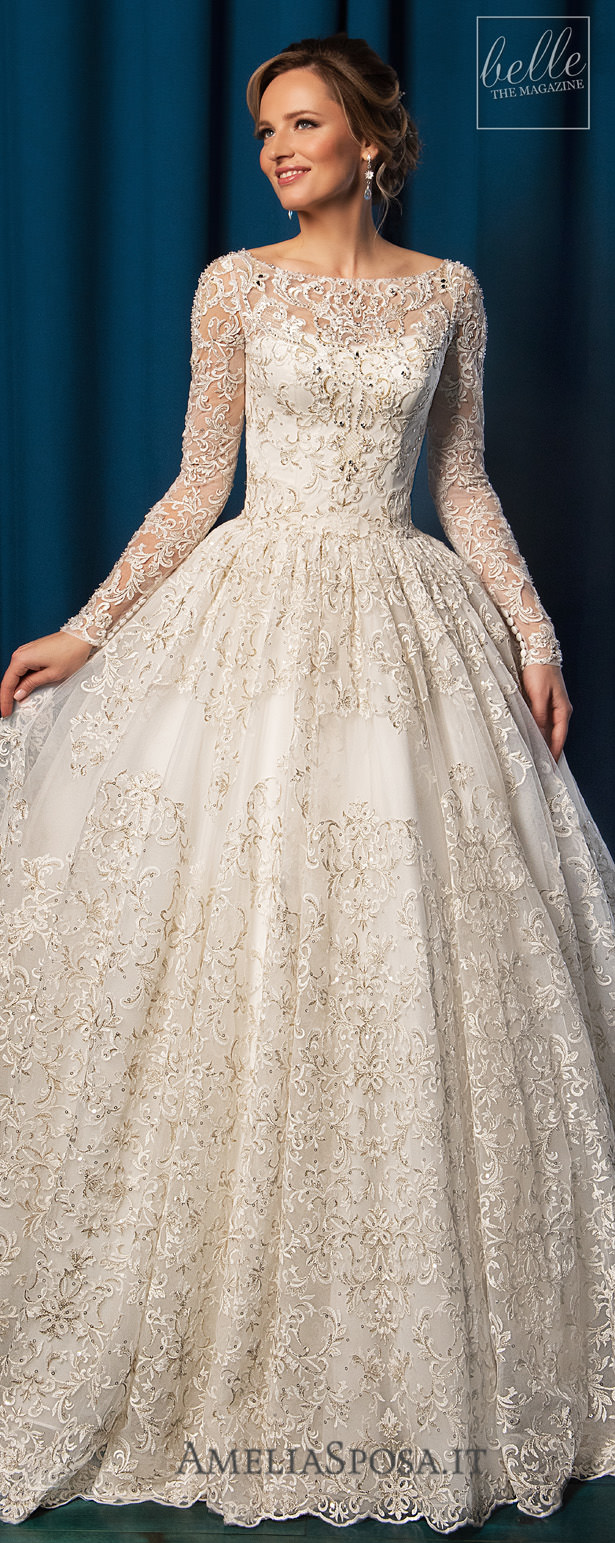 مجموعة Amelia Sposa Wedding Dresses 2019