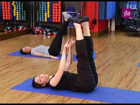 تمارين البطن 6 تمرينات سهلة في 15 دقيقة